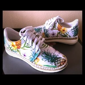 NEW Free People Tropical Print Snickers